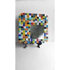 Multicolored mirror
